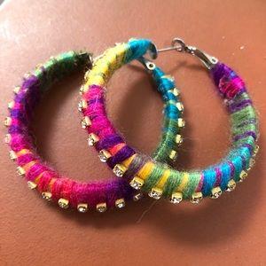 Jewelry - PRIDE hoops!!!🌈❤️🧡💛💚💙💜🌈